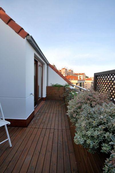Protecci n viento en terraza tico habitissimo - Proteccion para terrazas ...