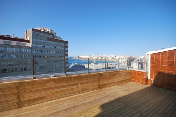 Protecci n viento en terraza tico habitissimo - Celosias terrazas aticos ...