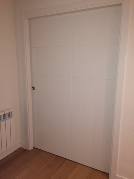 Porque las puertas correderas no cierran bien habitissimo - Puerta corredera doble ...