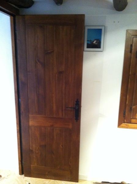 Tipos de madera maciza interesting finger joint de madera - Puerta corredera granero ...