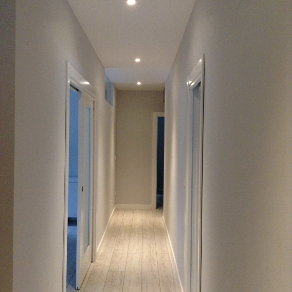 Colores para puertas y suelos en madera habitissimo for Paredes grises y puertas blancas