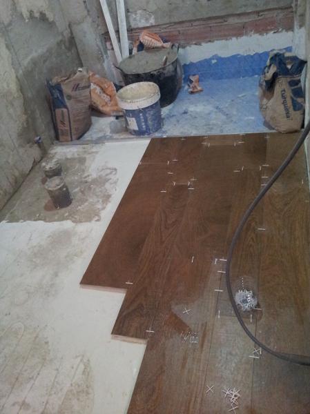 Recomendaciones para suelo de gres porcel nico habitissimo - Gres imitacion parquet ...