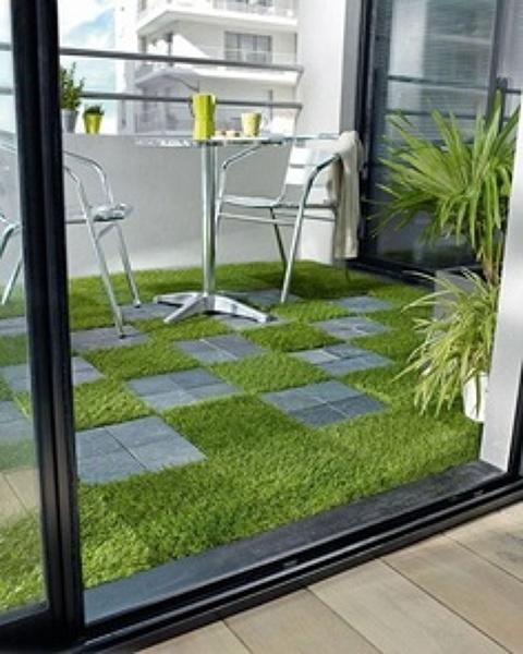 Se puede poner csped artificial en una terraza Habitissimo