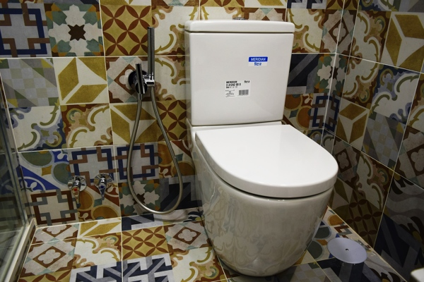 Qu se requiere para instalar una tapa de inodoro con - Grifo bidet para wc ...