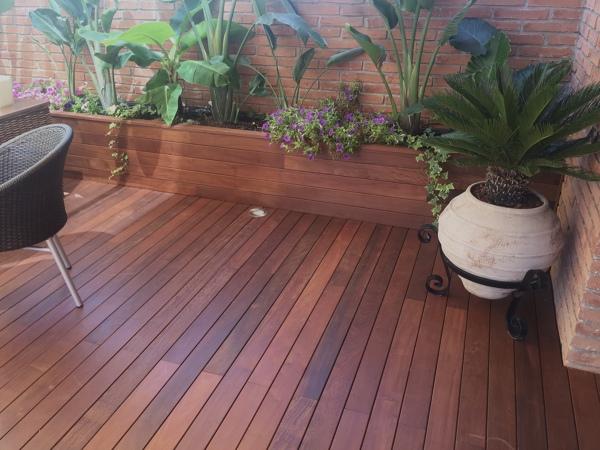 C mo tratar tarima exterior madera ip habitissimo for Ipe madera exterior