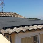 ¿Qué material han utilizado en el tejado?