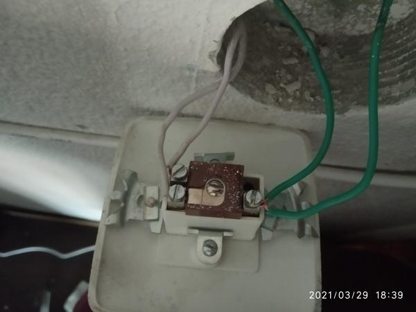 ¿Cómo conectar este interruptor para que vuelva a funcionar?