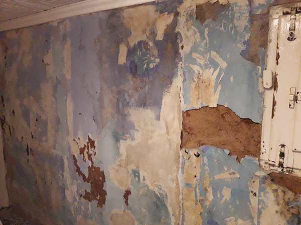 ¿Qué puedo hacer en este muro en una casa antigua?