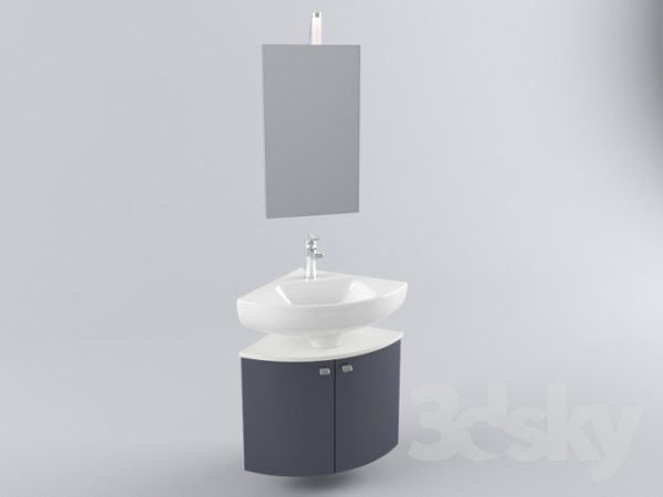 D nde podr a comprar un mueble para un lavabo esquinero for Mueble esquinero para pc