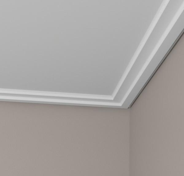 ¿Cuál sería el precio para una instalación de molduras de escayola en techo?