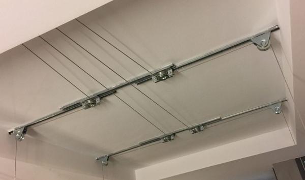 ¿Cuánto costaría la instalación de un sistema de poleas como este?