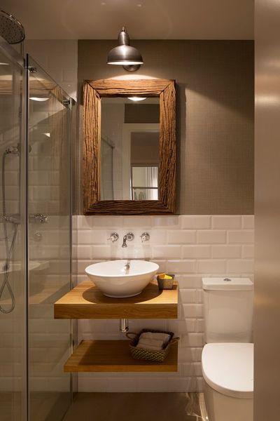 D nde encontr el lavamanos y lo soportes de madera habitissimo - Presupuestos reformas banos ...
