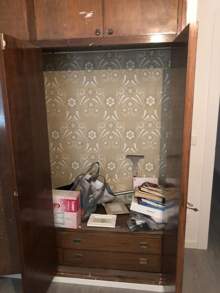 ¿Cuánto costaría reformar este armario empotrado?