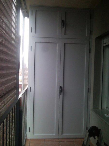 cu nto costar a un armario exterior de balc n como este