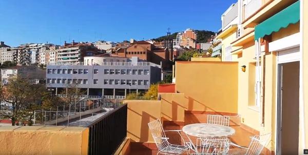 ¿Corre riesgo de sobrecarga esta terraza?