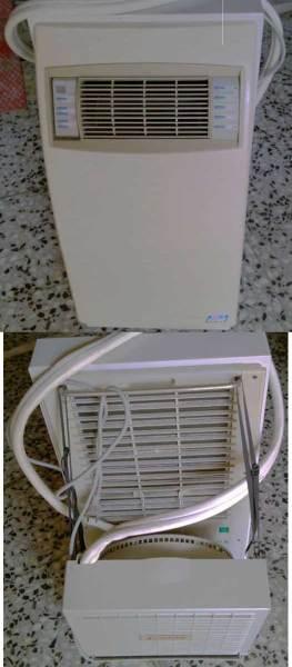 Recargar gas de aire acondicionado portátil