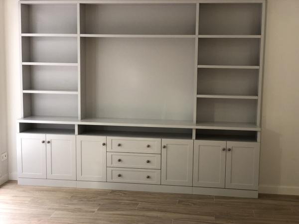 ¿Qué costaría este mueble de salón a medida?