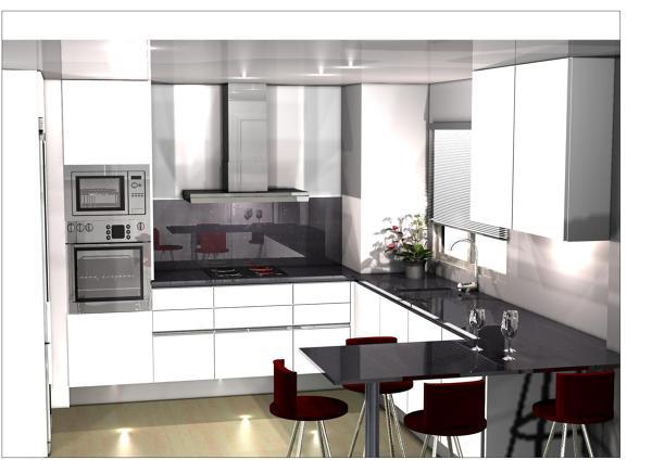 Presupuesto muebles cocina acero inoxidable online - Crea tu cocina online ...