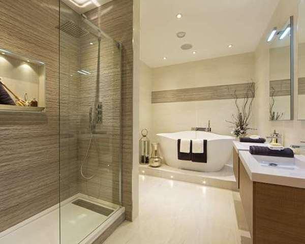 ¿Cuál es el modelo de azulejos del baño?
