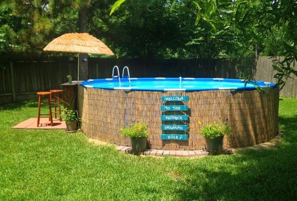 ¿Cuánto pesa una piscina como esta?