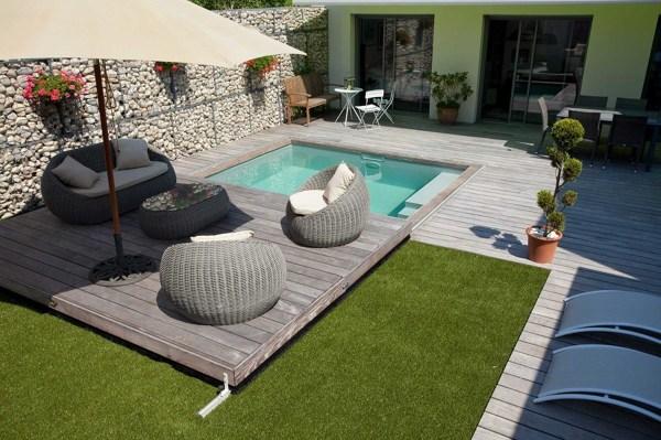 ¿Cuánto valdría hacer este tipo de cubrimiento en una pequeña piscina?