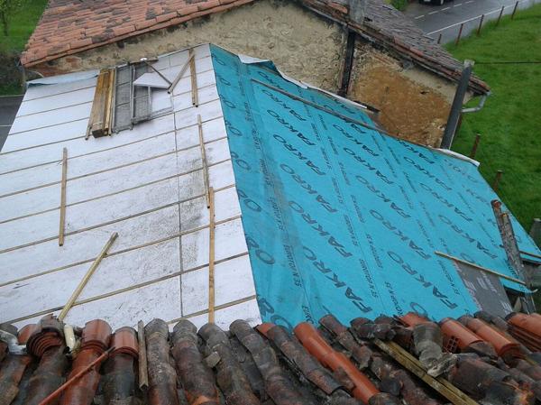 Presupuesto tejados madera online habitissimo for Tela asfaltica para tejados de madera