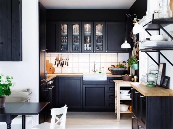 De dónde son los muebles de esta cocina negra? - habitissimo