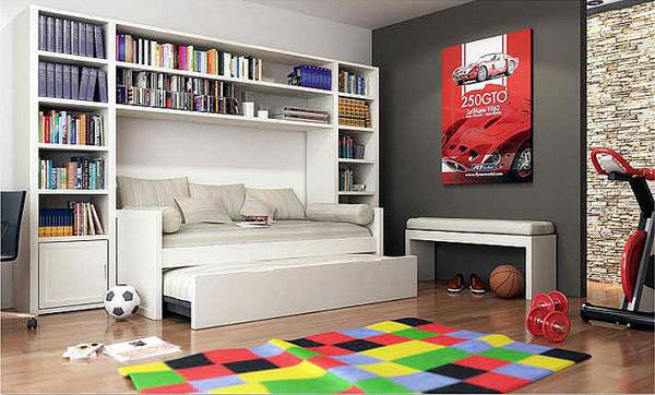 ¿Se podría adaptar a mi habitación este tipo de muebles?