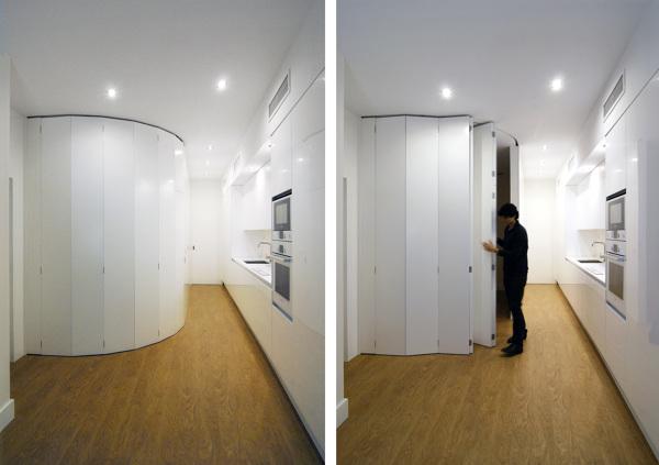 Existe este tipo de puerta para exterior habitissimo - Tabiques moviles vivienda ...