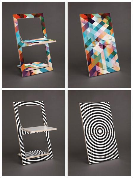 D nde puedo encontrar estas sillas plegables decoradas - Precio tapizar sillas ...