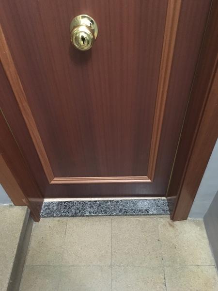 ¿Tiene arreglo esta puerta?