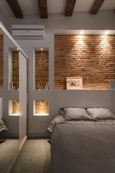 El ladrillo de la pared es de verdad o una imitaci n habitissimo - Pared imitacion ladrillo ...