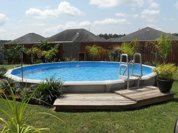 ¿El peso de esta piscina se puede soportar en una terraza?