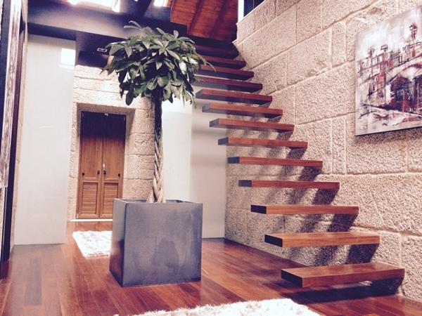 Ese tipo de escalera se puede poner en cualquier tipo de - Escaleras de ladrillo ...