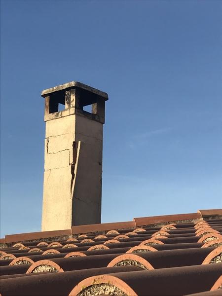 ¿Cómo reparar una chimenea?