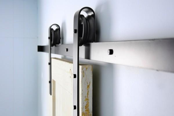 D nde puedo encontrar gu as para puertas correderas tipo for Puertas tipo granero