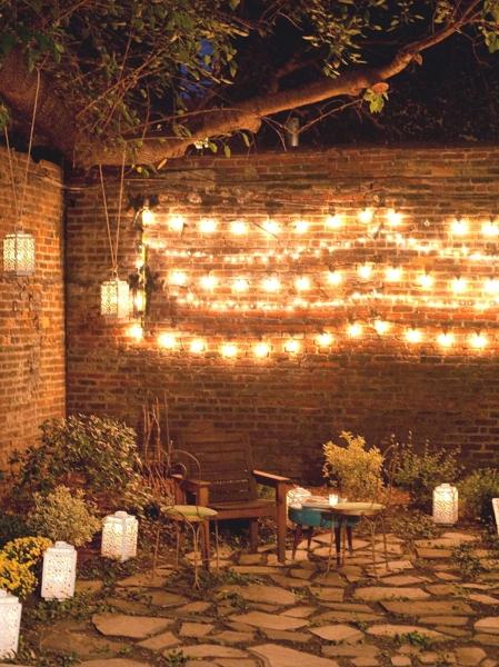 vale cualquier tipo de iluminacin para exteriores