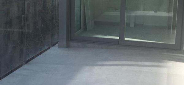 ¿Cuál es el límite de inclinación en una terraza?
