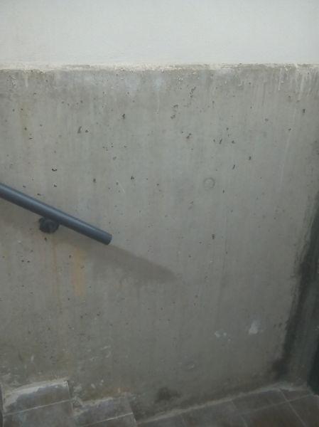 Qu material tengo que emplear para alisar una pared de hormig n exterior habitissimo - Pegamento de escayola para alisar paredes ...