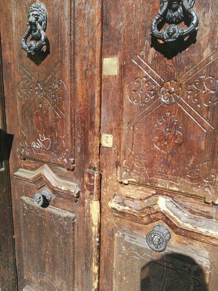 Cu nto costar a reparar una puerta de madera grande for Cuanto cuesta una puerta de madera