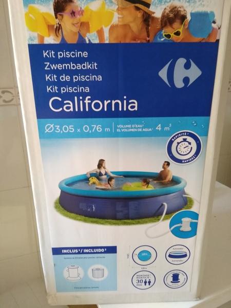 ¿Puedo tener una piscina hinchable en mi terraza?