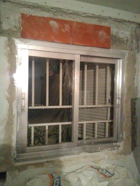 ¿Hay alternativas para colocar el tambor de una ventana?