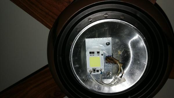 ¿Cómo hacer para que esta luz se vea más?