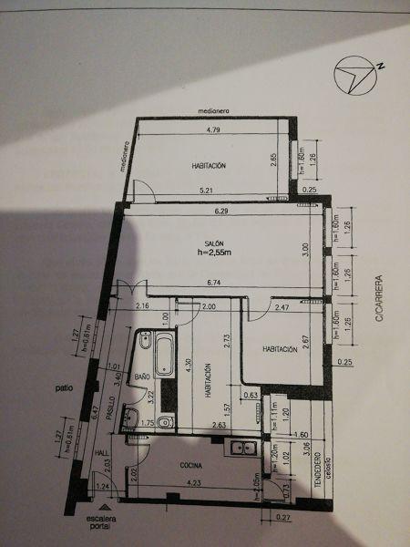 ¿Cómo distribuyó mi piso para reformar?