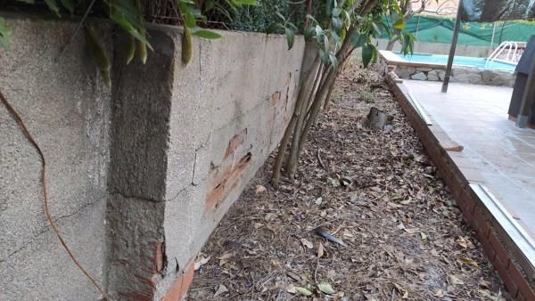 ¿Cuál sería la mejor solución para la reparación de este muro medianero?