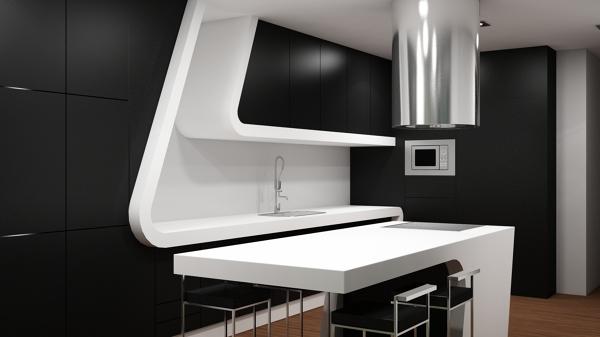 Interiorismo en vivienda unifamiliar_602380