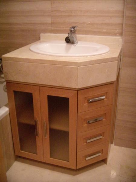 Muebles para el lavabo muebles estupendo muebles bano for Mueble para lavabo con pedestal