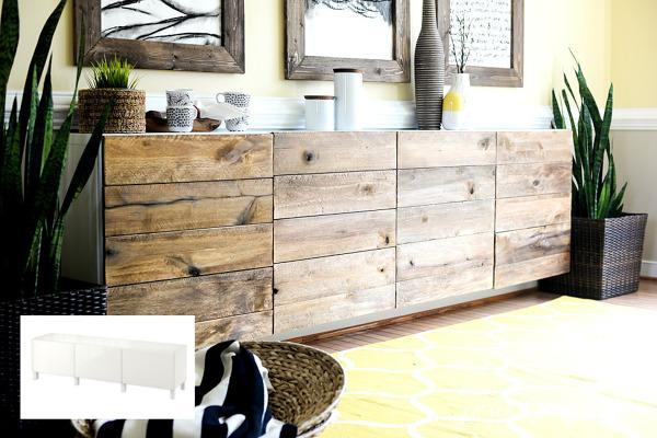¿Qué tipo de madera se ha utilizado en este mueble?