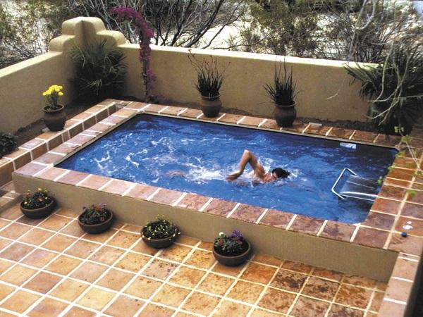 ¿Qué medidas aproximadas tiene esta piscina?