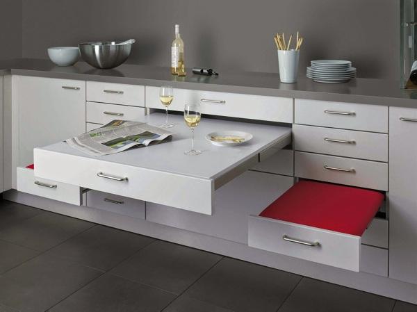 Dónde puedo encontrar una mesa extensible que se guarda en el cajón ...